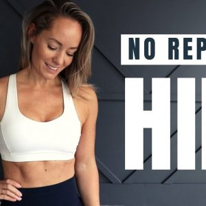 25 MIN NO REPEATS HIIT // Workout with Dumbbells
