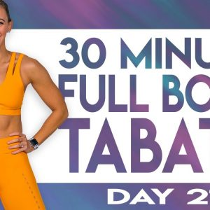 30 Minute Full Body Tabata Workout | TRANSCEND - Day 21