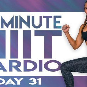 30 Minute HIIT Cardio Finisher Workout | TRANSCEND - Day 31