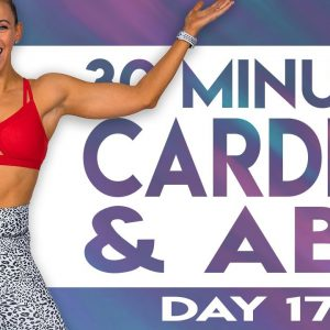 30 Minute No Equipment Cardio and Abs Workout | TRANSCEND - Day 17