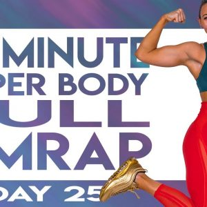 30 Minute Upper Body Pull AMRAP Workout | TRANSCEND - Day 25