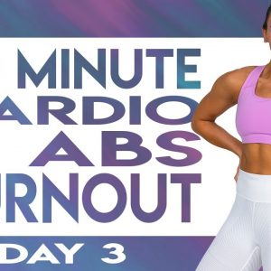 40 Minute NO Equipment Cardio and Abs Burnout Workout  | TRANSCEND - Day 3