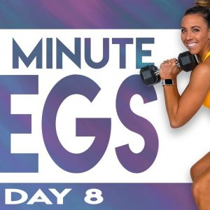 45 Minute Legs Workout | TRANSCEND - Day 8