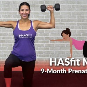 HASfit Mama 9-Month Prenatal Exercise Program - Home Pregnancy Workout Plan 1st, 2nd, 3rd Trimesters