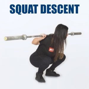 Basics of the Squat | #3 Descent