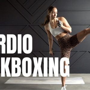 Cardio Kickboxing Workout // Get Ready To SWEAT!