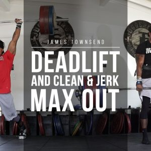 Deadlift and Clean & Jerk Max Out | JTSstrength.com