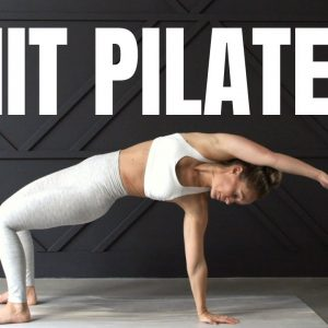 Full Body HIIT Pilates Workout // Fusion