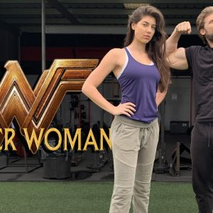 Gal Gadot WONDER WOMAN 1984 Bodyweight WORKOUT