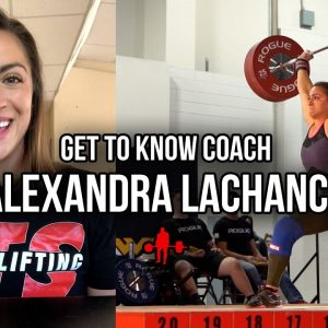 Get To Know Coach Alexandra LaChance