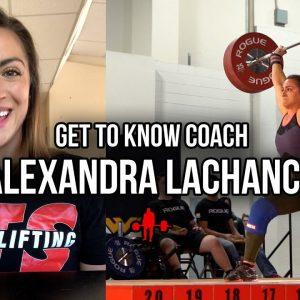 Get To Know Coach Alexandra LaChance