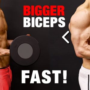 How to Get Bigger Biceps Fast (JUST DO THIS!)