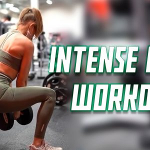 Intense Legs Workout - Toned Legs