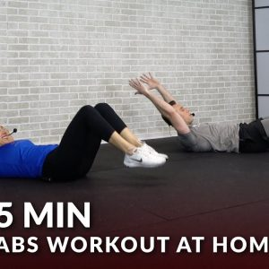 5 Min Abs Workout for Men & Women - 5 Minute Abs Workout at Home - Ab Workouts Routine
