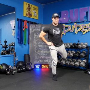 20 Min HIIT Home Bodyweight Full Body Workout Routine