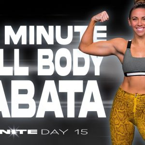 40 Minute Full Body Tabata Workout | IGNITE - Day 15