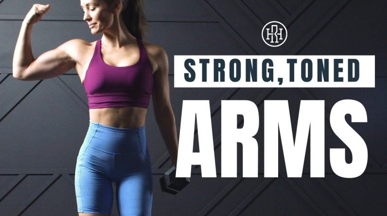 Arm Toning & Strength // Dumbbell Only Workout