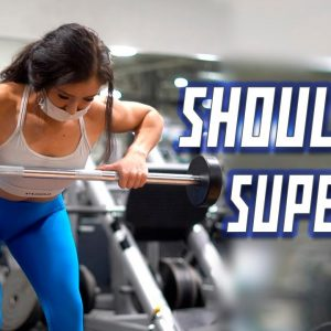 Complete SHOULDER Workout - Superset Circuit