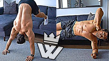 Effective WORKOUT At HOME (Home Exercises)