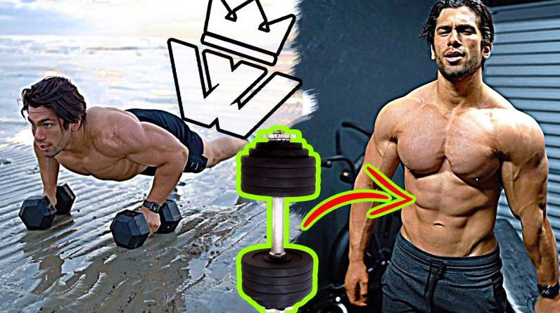 FULL BODY DUMBBELL CIRCUIT (18 Exercises)