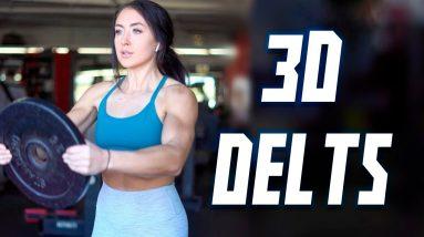 Full Shoulder Workout with Dumbbells for 3D Delts | Effective Exercises