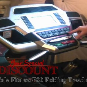 [#1] SOLE FITNESS F80 FOLDING TREADMILL : SOLE FITNESS F80 FOLDING TREADMILL REVIEW!+