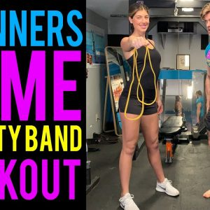 Beginner's Home Mobility Band Workout | Buff Dudes Mobility Band Workout Plan S1D2