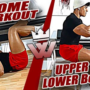 11 Exercises For Home Training (UPPER & LOWER Body)