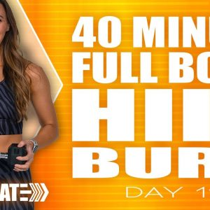 40 Minute Full Body HIIT Burn Workout | ACCELERATE - Day 19
