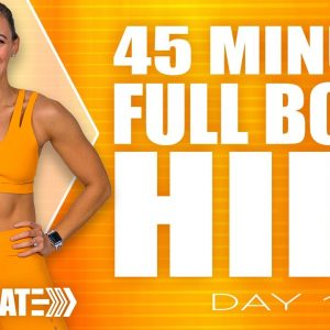 45 Minute Full Body HIIT Workout | ACCELERATE - Day 1