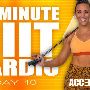 50 Minute HIIT Cardio Workout | ACCELERATE - Day 10