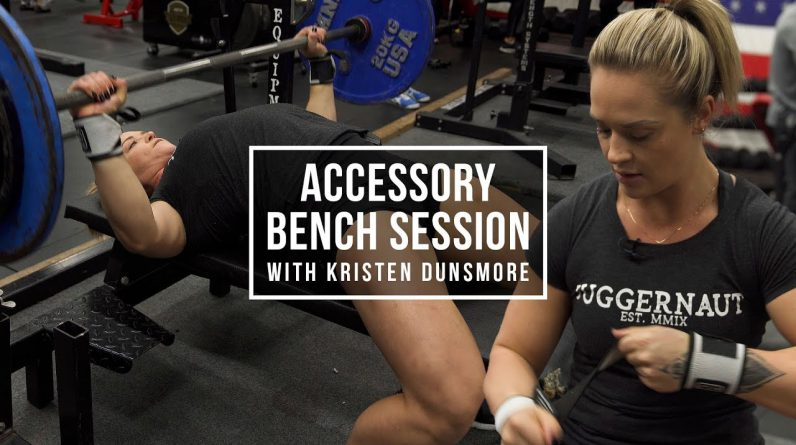 Accessory Bench Session w/ Kristen Dunsmore | JuggernautAI