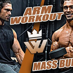 ARM WORKOUT Bicep & Tricep MASS BUILDING