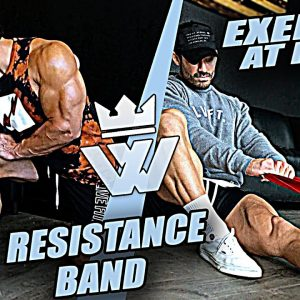 EXERCISE AT HOME (RESISTANCE BAND At Home Workout)