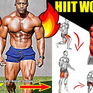 Full Body FAT BURNING Workout (HIIT Exercises)
