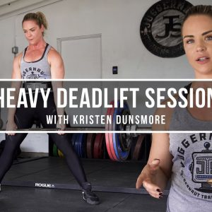 Heavy Deadlift Session with Kristen Dunsmore | JuggernautAI
