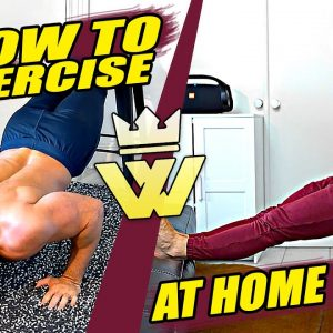How To Exercise At Home: The 10 Best Free Body Workout