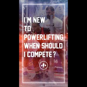 I'm New To Powerlifting, When Should I Compete? #shorts