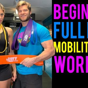Beginner's Full Body Mobility Band Workout | Buff Dudes Mobility Band Workout Plan S1D1&D3