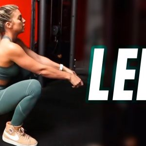 The Most Effective leg workout ( EXERCISES for Strong Legs )