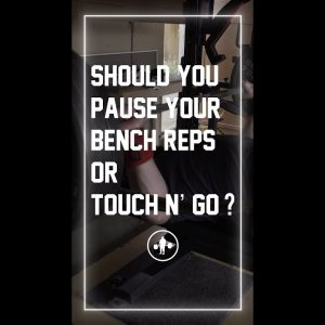 When Should You Pause Your Bench Press? #shorts