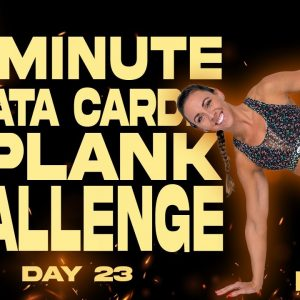 40 Minute Tabata Cardio and Plank Challenge Workout | BURN - Day 23