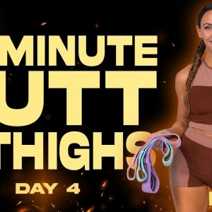 45 Minute Butt and Thighs Workout   BURN - Day 4