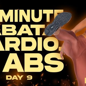 45 Minute Tabata Cardio and Abs Workout | BURN - Day 9