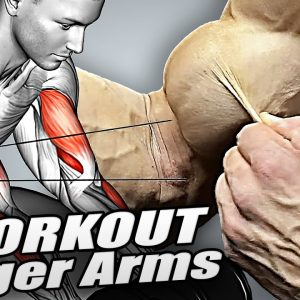 7 Exercises to Build Bigger Arms (Biceps+Triceps+Forearms)