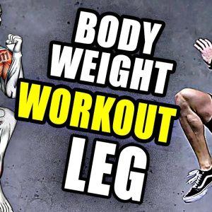 Bodyweight Leg Workout (No Equipment)