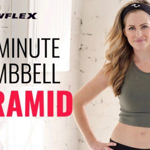 Bowflex® Live | 30-Minute Dumbbell Pyramid Workout with BodyFit by Amy