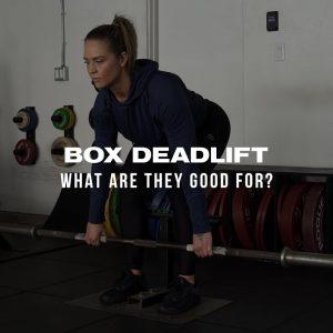 Box Deadlift/Vert Pull-How, Why & When? #shorts