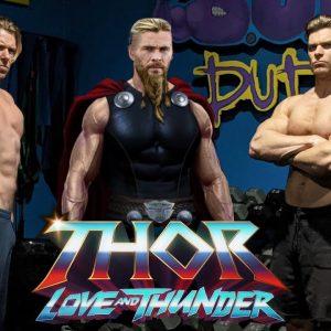 Chris Hemsworth's THOR LOVE & THUNDER WORKOUT