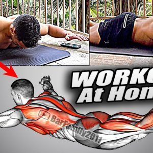 Effective Full Body Workout At Home. No equipment